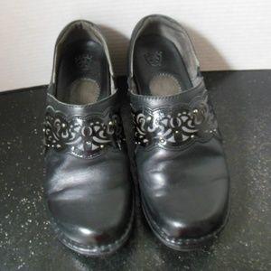 Ariat Tambour Clogs Black Leather